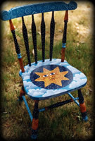 Seasons theme for painted chairs
