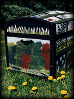 Woodland Meadow theme for painted chests