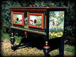 Woodland Meadow theme for painted dressers
