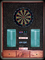 Custom dartboards by Reincarnations Painted Furniture