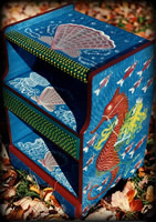 Mermaids theme for painted nightstands