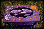 Celestial Signs theme for hand painted tables