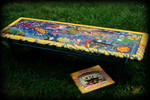 Beatle's theme for hand painted tables
