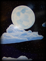 Night Sky theme for painted furniture
