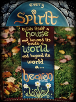 Spirit Quote theme for hand painted furniture